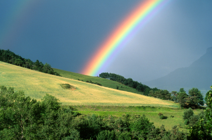 Genesis 9.13–16 – The seven colors of the rainbow